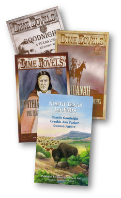 Texas Legends Series of DIME NOVELS - classroom set
