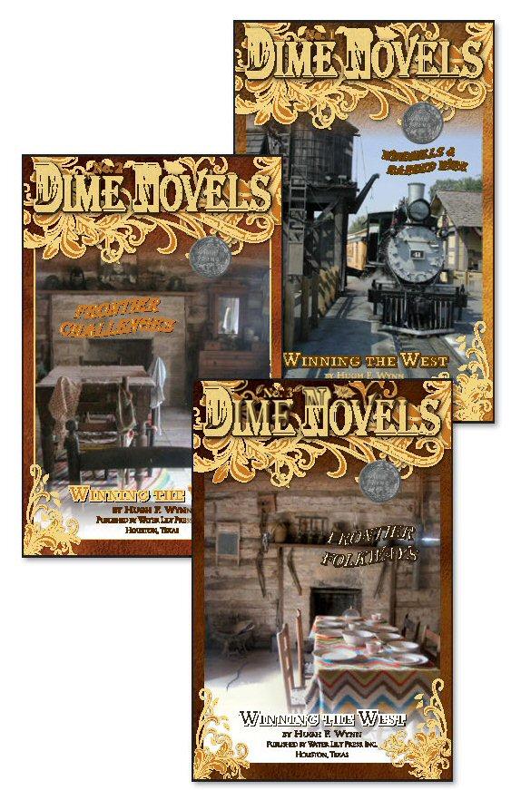 Frontier Series DIME NOVELS (3 book set) & Readers Guide ... | 563 x 871 jpeg 146kB